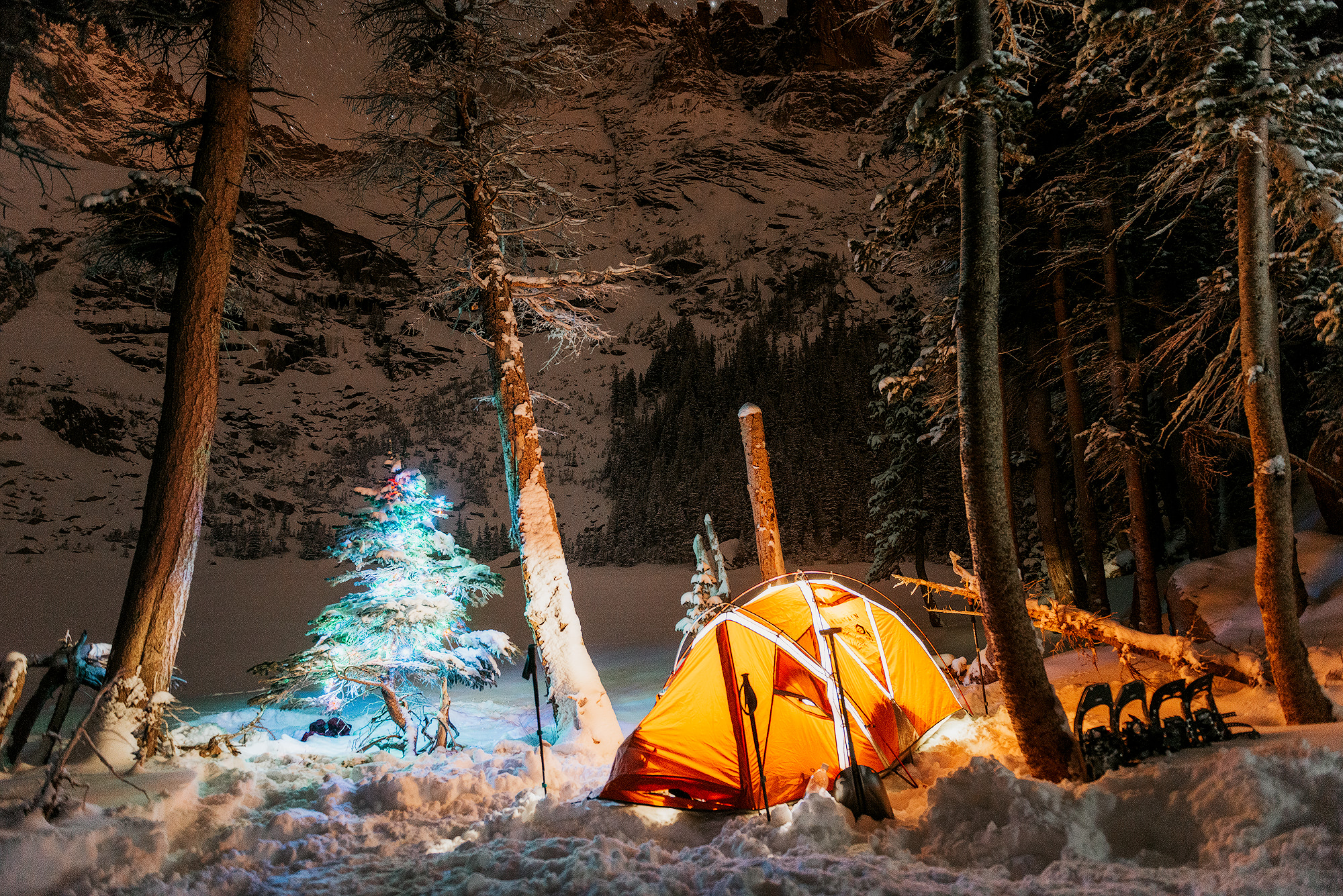 Night Photography Tips & Tricks - Light Up Your Winter. Renee Roaming