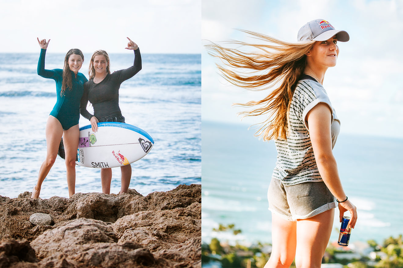 Surf Lessons From A World Champ - My Day With Caroline Marks Redbull