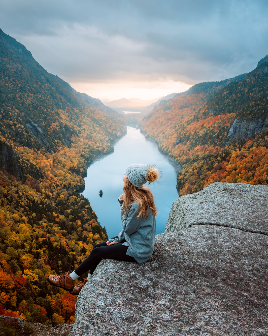 New England Fall Road Trip Ultimate Itinerary Renee Roaming Adirondacks Lake Placid Hike Upstate New York