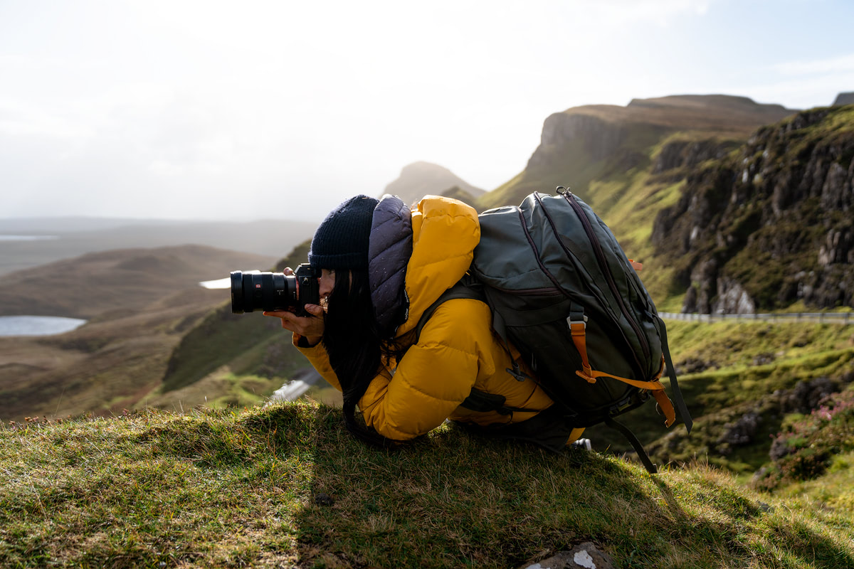 Epic Isle of Skye Photography Locations Renee Roaming Quiraing Sony Gear