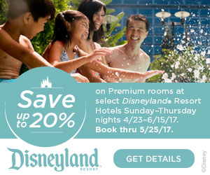 Stay in the Middle of the Magic at Disneyland!