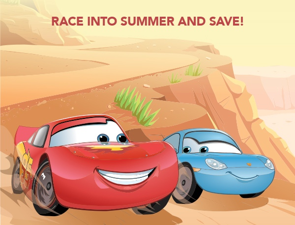 Race into Summer & Save at Walt Disney World!