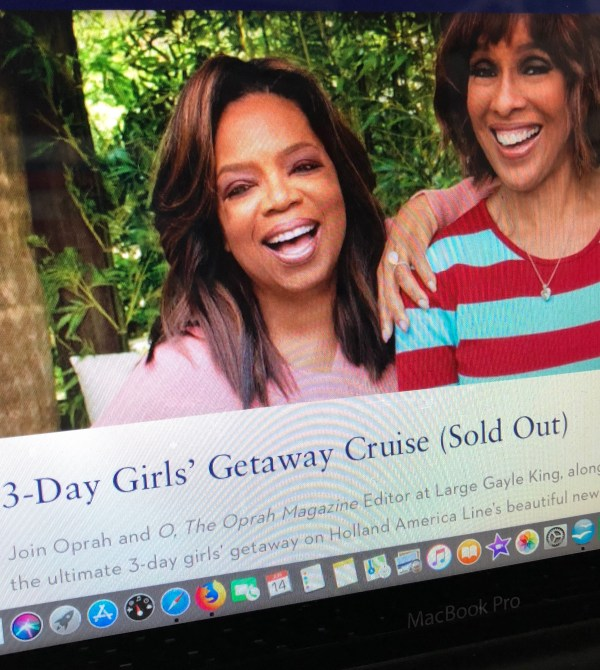 Cruise with Oprah & O Magazine on the Ultimate Girls' Getaway