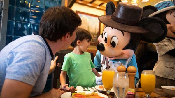 Character Dining Options at Disneyland