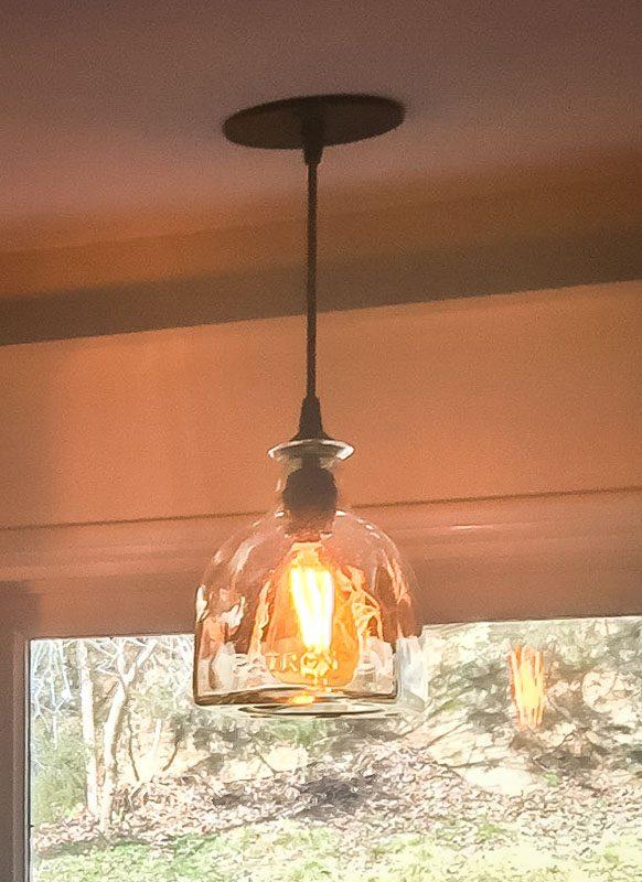 Upcycled Light Fixtures Renegade Art Glass