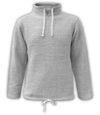 Renegade Club Unisex Fleece Pullover, womens sweatshirt, mens sweatshirt, nantucket soft fleece, salt and pepper, white, gray