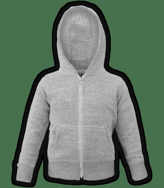 renegade-club-kids-jacket-nantucket-fleece-infant-toddler-fleece jacket, full zip, white, gray, salt and pepper
