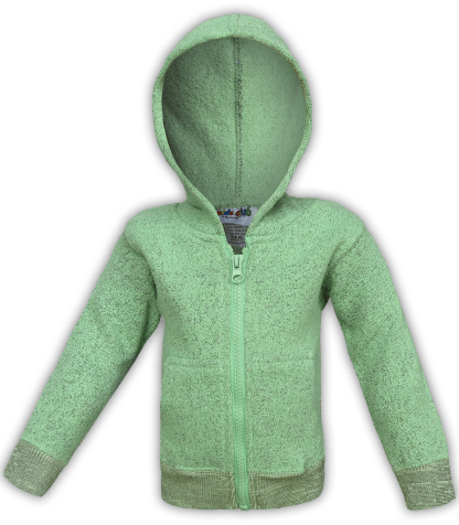renegade-club-kids-jacket-nantucket-fleece-infant-toddler-fleece jacket, full zip, lime, green