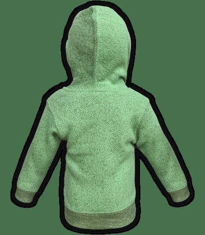renegade-club-kids-jacket-nantucket-fleece-infant-toddler-fleece jacket, full zip, lime, green, back