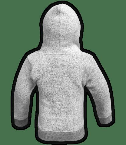 renegade-club-kids-jacket-nantucket-fleece-infant-toddler-fleece jacket, full zip, salt and pepper, gray, white, back
