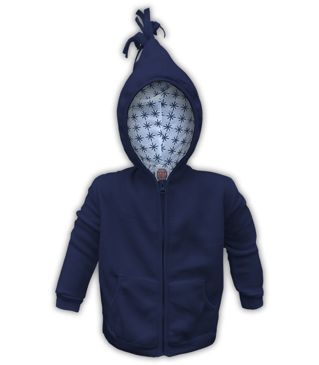 190a5b4da Infant Polar Fleece Sweatshirt with Inside Printed Hood – Renegade Club