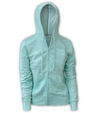 renegade club, resort stop full zip, melange fleece, green, seafoam