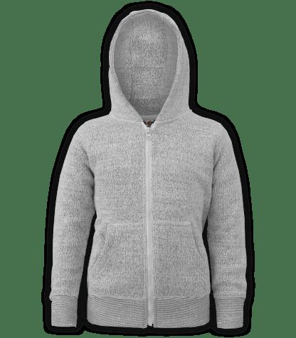 renegade-club-kids-jacket-nantucket-fleece-youth-fleece jacket, full zip, salt & pepper, white, gray