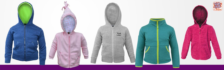 renegade club fleece sweatshirts for kids, red, green, pink, blue, cute, full zip, hood,