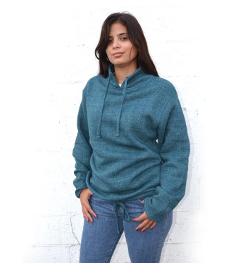 Renegade Club women nantucket Fleece tunnel sweatshirt, embroidery blank wholesale