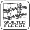 quilted squares logo, square signature fleece fabrics renegade club wholesale