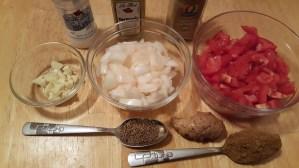 Aloo Gobi Ingredients