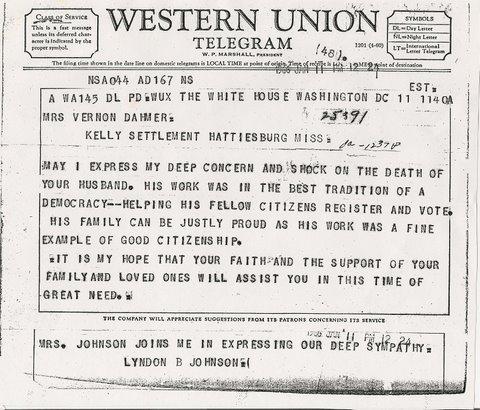 The Family Origins of Vernon Dahmer, Civil Rights Activist (2/6)
