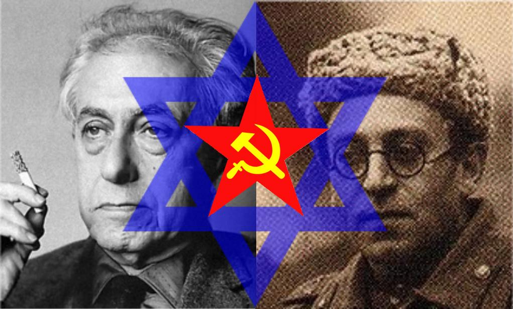 Communist Jew demons, Ilya Ehrenburg and Vassily Grossman