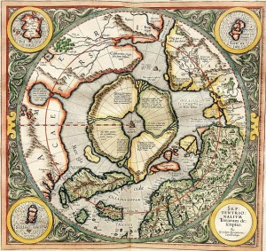hollow earth maps