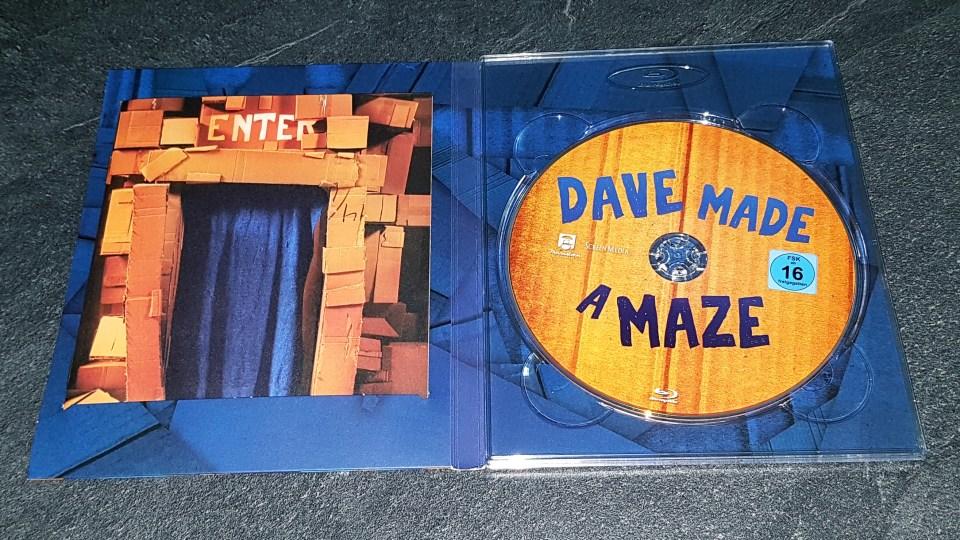 Ein Blick ins Innere von Dave Made a Maze