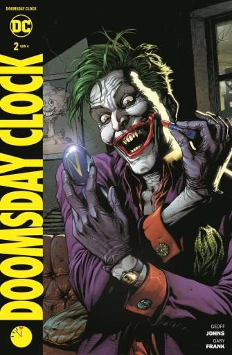 Das Cover von Doomsday Clock Band 2