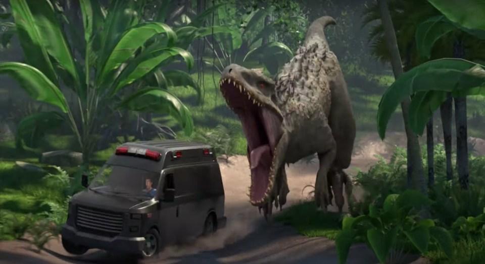 Der Indominus Rex (Bild: Netflix)