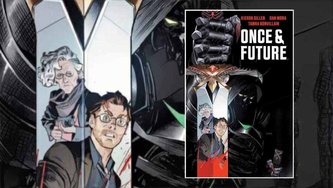 Das Cover von Once & Future