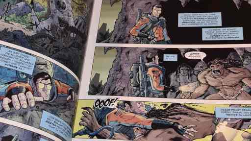 Heath Huston, der Held aus Fear Agent (Bild: Renes Nerd Cave/Cross Cult)