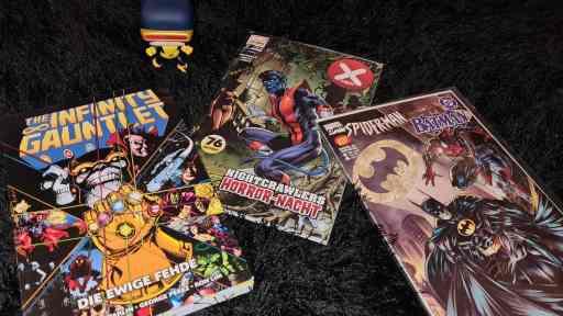Marvel Comics sind allzeit beliebt! Egal ob Klassiker, neue Story oder Crossover (Bild: Renes Nerd Cave)