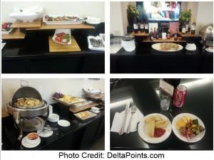 Sheraton Gateway LAX club room Delta Points blog 1