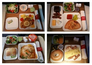 delta 1st class food breakfast lunch dinner delta points blog 4 meals