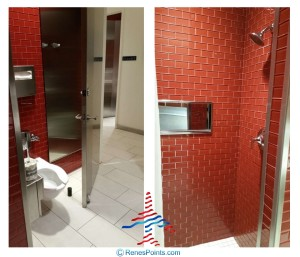 Delta Sky Club Atlanta F International Terminal SkyDeck review RenesPoints blog shower bathroom