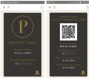 my digital priority pass card