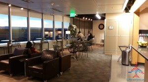 Alaska Airlines Board Room ANC review RenesPoints travel blog (4)