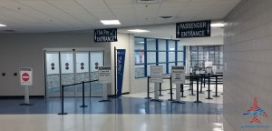 NEW Security exit at South Bend Indiana SBN Airport RenesPoints blog