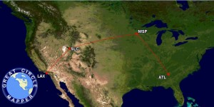 atl to msp to lax