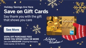 buy amex gift cards no fee