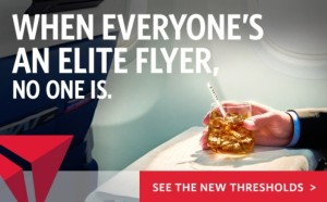 delta air lines says when everyones an elite flyer no one is reg new 2016 medallion program