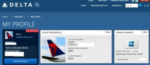 i want an aisle seat in my delta profile
