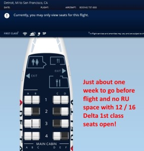 with a week to go no space for delta regional upgrades