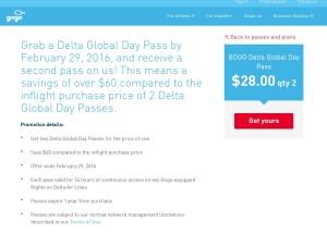 delta gogo global pass sales bogof