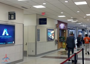 delta sky club atlanta ATL T concourse review RenesPoints blog (1)
