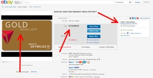 ebay user trustbuysolutions1 selling delta medallion choice benefit in violation of terms of program