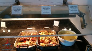 new food choices at DFW AMEX Centurion Lounge Renes Points blog (1)