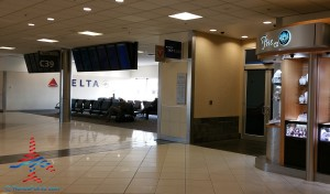 Delta Sky Club SkyClub Atlanta ATL C concourse renes points renespoints blog review (1)