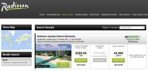 cost to stay on points low level club carlson radisson barbados renes points blog