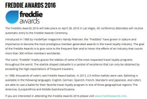 freddie awards 2016 april 28 vegas