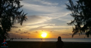 sunset in barbados renes points blog