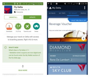 fly delta app updates for hoou coupons renes points